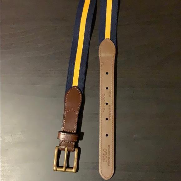 2/30🤑 polo ralph lauren web belt